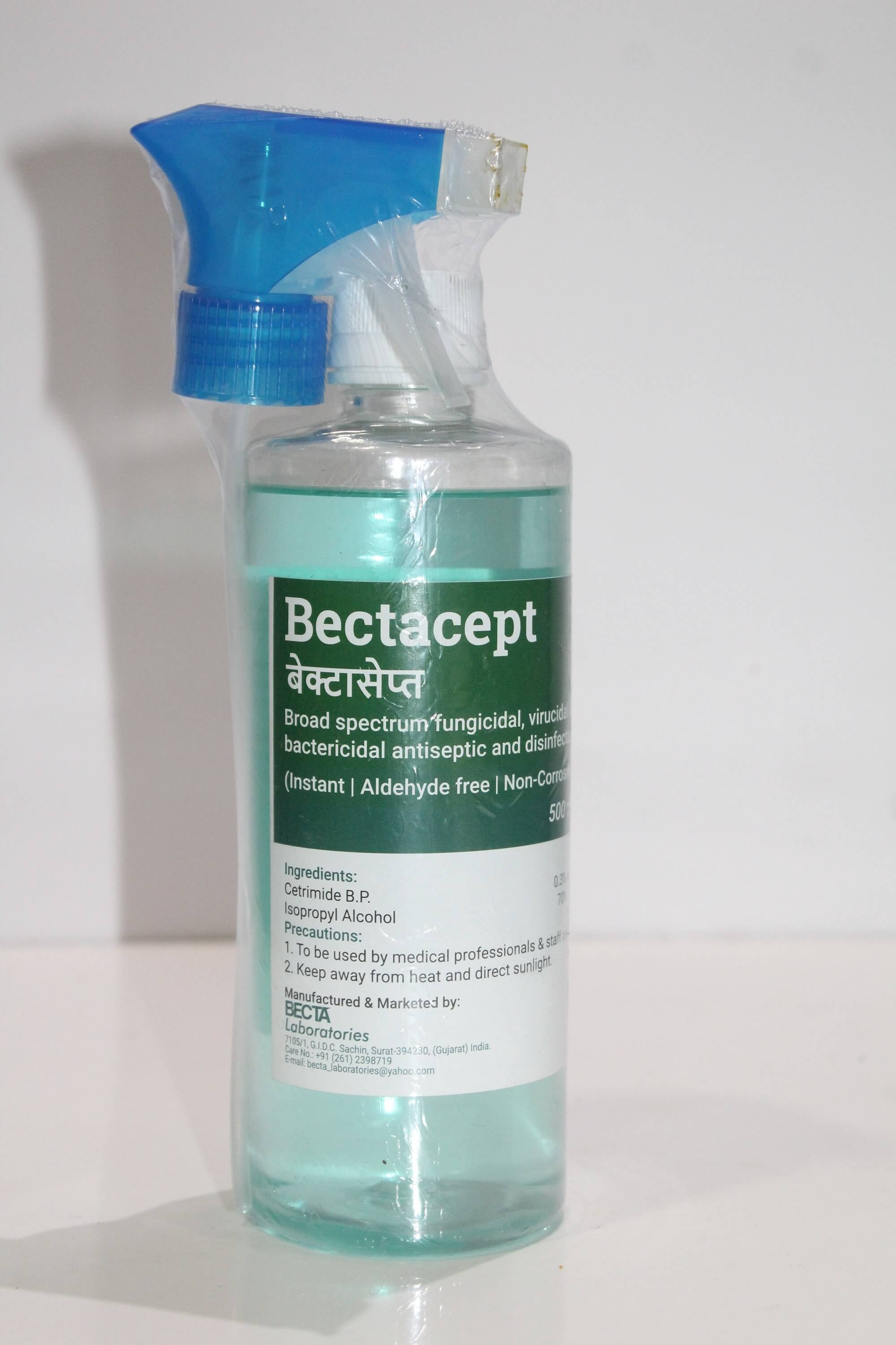 Antiseptic & Disinfectant Solutions Manufacturer, Becta